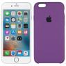 Чехол силиконовый для iPhone 6/6s Фиолетовый