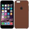 Чехол силиконовый для iPhone 6/6s Коричневый