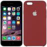 Чехол силиконовый для iPhone 6/6s Клюква