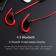 Беспроводные наушники Awei B923BL Sport Красный