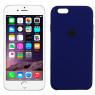 Чехол силиконовый для iPhone 6/6s Кобальтовый