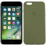 Чехол силиконовый для iPhone 6/6s Plus Болотный FULL