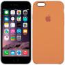 Чехол силиконовый для iPhone 6/6s Светло оранжевый