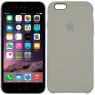 Чехол силиконовый для iPhone 6/6s Пепельно серый
