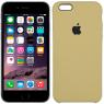 Чехол силиконовый для iPhone 6/6s Светло коричневый