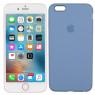 Чехол силиконовый для iPhone 6/6s Plus Морской синий FULL