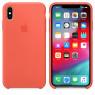 Чехол силиконовый для iPhone Xr Морковный Оранжевый