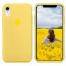 Чехол силиконовый для iPhone Xr Лимонный