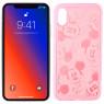 Чехол Mickey для Apple iPhone X/Xs Розовый