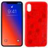 Чехол Mickey для Apple iPhone Xs Max Красный
