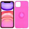 Чехол Ring Color для iPhone 11 Pro Max Розовый