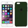 Чехол силиконовый для iPhone 6/6s Темно Зеленый