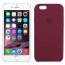 Чехол силиконовый для iPhone 6/6s Бордовый