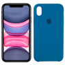 Чехол силиконовый для iPhone Xr Бирюзовый