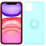 Чехол Ring Color для iPhone 11 Pro Max Бирюзовый