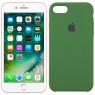 Чехол силиконовый для iPhone 7/8 Темно Зеленый