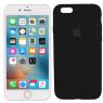 Чехол силиконовый для iPhone 6/6s Plus Чёрный FULL