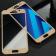 Защитное стекло для SAMSUNG A320 Galaxy A3 (2017) Full Glue (0.3 мм, 2.5D, золоте)