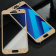 Защитное стекло для SAMSUNG A720 Galaxy A7 (2017) Full Glue (0.3 мм, 2.5D, золотое)