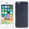 Чехол Ultra Thin Silicone Remax 0.2 mm для iPhone 6 Plus Чёрный