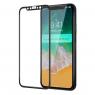 Защитное стекло для APPLE iPhone Xr/11 (0.3 мм, 4D/5D матовое чёрное)