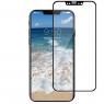 Защитное стекло для APPLE iPhone X/Xs/11 Pro (0.3 мм, 4D/5D матовое чёрное)