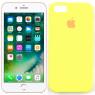 Чехол силиконовый для iPhone 6/6s Лимонный