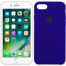 Чехол силиконовый для iPhone 7/8 Темно Фиолетовый