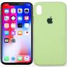Чехол силиконовый для iPhone Xr Зеленый