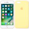 Чехол силиконовый для iPhone 6/6s Светло Жёлтый