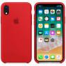 Чехол силиконовый для iPhone Xr Красный FULL