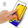 Защитное стекло для SAMSUNG A015 Galaxy A01 2020 Full Glue (0.25 мм, 2.5D, чёрное) ЛЮКС