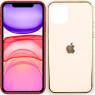 Чехол U-Like Glossy Logo series для iPhone 11 Золотой