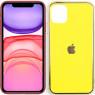 Чехол U-Like Glossy Logo series для iPhone 11 Желтый