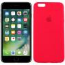 Чехол силиконовый для iPhone 6/6s Plus Темно Вишневый FULL