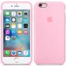 Чехол силиконовый для iPhone 6/6s Ярко розовый