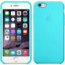 Чехол силиконовый для iPhone 6/6s Голубой