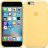 Чехол силиконовый для iPhone 6/6s Желтый
