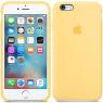 Чехол силиконовый для iPhone 6/6s Золотой