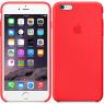 Чехол силиконовый для iPhone 6/6s Красный