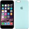 Чехол силиконовый для iPhone 6/6s Минтоловый