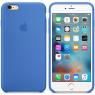 Чехол силиконовый для iPhone 6/6s Морской синий