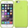 Чехол силиконовый для iPhone 6/6s Оливковый