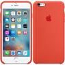 Чехол силиконовый для iPhone 6/6s Оранжевый