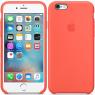 Чехол силиконовый для iPhone 6/6s Персиковый