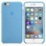 Чехол силиконовый для iPhone 6/6s Светло Голубой