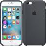 Чехол силиконовый для iPhone 6/6s Светло Серый