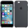 Чехол силиконовый для iPhone 6/6s Темно Серый