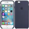 Чехол силиконовый для iPhone 6/6s Темно Синий