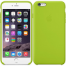 Чехол силиконовый для iPhone 6/6s Ярко зеленый